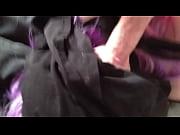 Смотреть порно девушек в черном платье