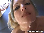 Picture Young amateur GF sucks and fucks with facial...