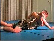 Flamingo Mixed Wrestling mw074 - Christine vs B...