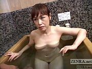 【熟女】お風呂場で夫以外の体を洗ってるうちにだんだんと…