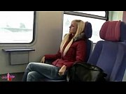 Picture Hot girl in train toilette