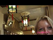Natural exhibitionist in Chinese Restaurant - v...