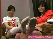 Cherry AsianFeet - Model long sock