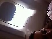Brincando no Avião