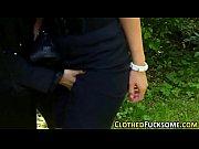 Женшины трогают друг друга за попки