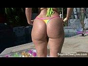Big Tit Sophie Dee's Micro Bikini Masturbation