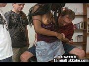 Секс грудастая мачеха пошла за пасынком в туалет