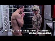 Grey Haired Stepmom Fucks Her Bathroom Jerking ...