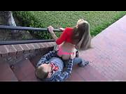 Novinha dando na escada   Veja MAIS  http://a...