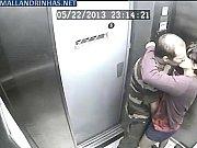 elevador no foda flagrando segurança de Câmera