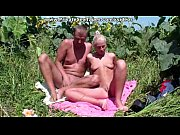 Lewd amateur couple strong orgasm in sunflowers...