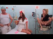 Hot nurse and patient blowing doctors cock for ...