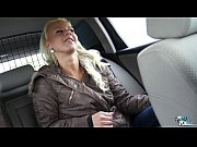 Teen Nathaly Cherie stops the car and fucks her...