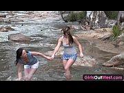 Секс с двумя русскими девками в лесу онлайн