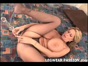 Jules getting her pussy licked in ripped stockings