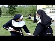 kloster in repairman from fuck first her get nun German