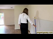 house empty an in boss her seduces manager property Hot