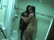 Interracial hubby films wife cuckold