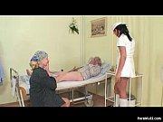 Picture Granny watches grandpa fucks nurse in hospit...