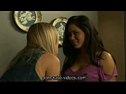 Sexy Lesbian Girls Kissing and Touching