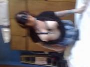 Секси девушка разделась перед веб камерой