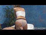 возбудил массажем порно видео