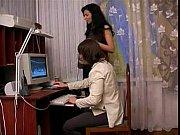 Девушке делают массаж два парня видео