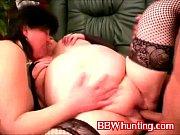 Секс на кровати с огромными сиськами
