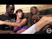 alex cruiz gets a double dose of black cock