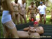 orgy fuck groupsex garden German