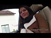 Picture Nasty brunette Young Girl 18+ hitchhiker ban...