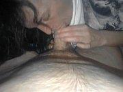 домашняя ебля с пухлой брюнеткой