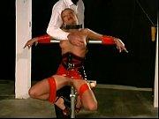 Slave Livia extreme restraints bondage training...