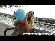 Picture Carter Cruise in her first ever blow to pop...