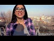 Horny amateur Eurobabe Julia De Lucia pounded f...