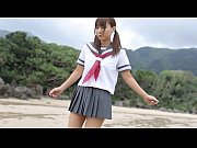 【青姦】日焼け跡が超セクシーな女子校生の長谷川るいがビーチで乱交セクロス
