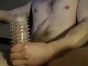 Секс девушка положила свою ногу на боксеры