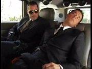 Executivos gostosos fodendo na limosine