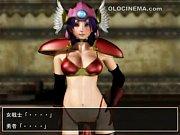 エロアニメ動画「3D」 女戦士におしおき触手調教