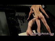 Picture Free male bondage videos gay Aiden bangs his...