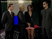 Босс устроил своей секретарше бондаж жестко связав ее по рукам и ногам