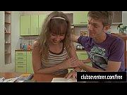 У сестры во рту сперма от брата видео