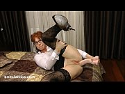 Picture Mature secretary prolapses from big brutal a...