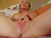 Порно с мамой блондинкой