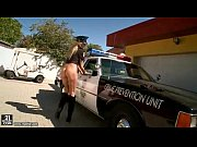 Horny Police Woman Masturbation