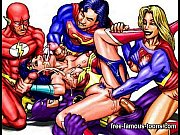 Famous cartoons group sex orgies