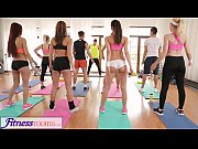 FitnessRooms Barbara Bieber has a sexual workou...