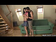 Cute brunette girl cheats with his brother!, achooll girl Video Screenshot Preview