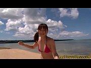 周防ゆきこ!夏の浜辺で美女と青姦。。