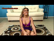 Blonde Beauty Teases And Strips